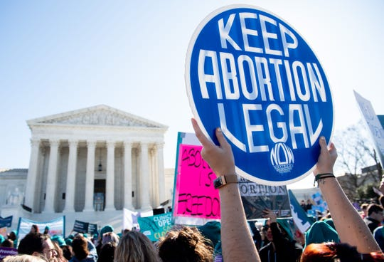 US Supreme Court strikes down Louisiana abortion law June 29, 2020.