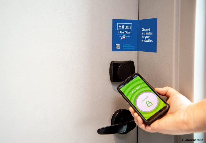 A New Normal Hilton Follows Marriott Airbnb With Cleanliness