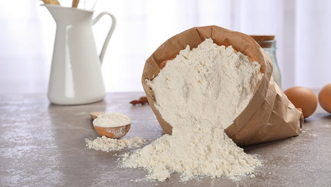You can still order some flour online.