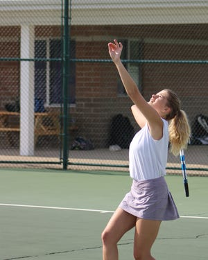 Libby Robins was set to be a senior captain for the Lakeview girls tennis team in 2020.