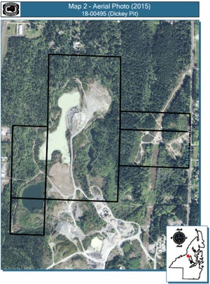 An old gravel mine is being rezoned to create the possibility of housing or business development as part of the county's Comprehensive Plan.