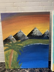 Dr. Mike Ronsisvalle and his family during this quarantine period have tapped into a skill they didn't know they had - painting.