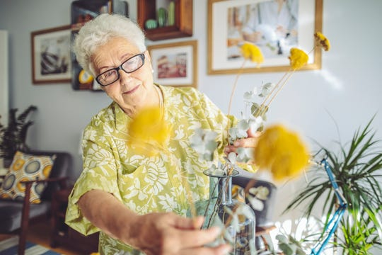 Trying new things can open up a world of creativity and routine for isolated seniors.