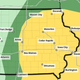 There's a chance for severe weather across Iowa on Tuesday.