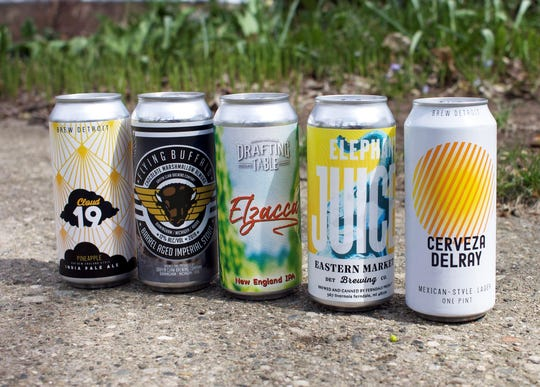 Local breweries are offering their beers via carryout, curbside pickup and even delivery during the coronavirus pandemic. That includes Brew Detroit, Griffin Claw Brewing Co., Drafting Table Brewing Co. and Eastern Market Brewing Co. (via Ferndale Project).