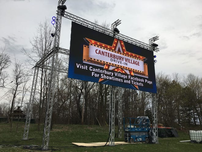 Starting Thursday, Canterbury Village will transform into a drive-in movie theater adhering to social distancing guidelines as a new entertainment option in the age of coronavirus.