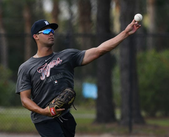 Outfielder Riley Greene is ranked the No. 3 prospect in the Tigers' system.