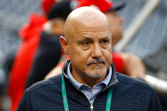 """The challenges have been that they stopped playing baseball about six weeks into the spring season,"" Nationals GM Mike Rizzo said, talking about the draft. ""So that's been the biggest hurdle that we had to face."""
