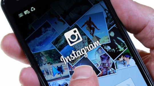 Instagram app (Dreamstime/TNS)