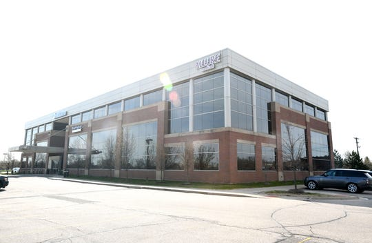 Allure Medical on 26 Mile in Shelby Township, Michigan, on April 28, 2020.