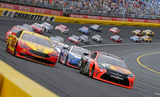 The governor of North Carolina says NASCAR can go forward with the Coca-Cola 600 at Charlotte Motor Speedway at the end of May so long as health conditions do not deteriorate in the state.
