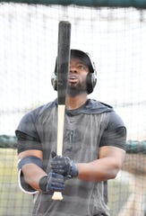 Christin Stewart hit .233 in 416 plate appearances last season with the Tigers.
