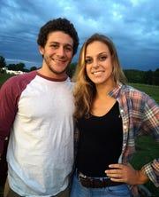Horseheads' Dan Manganaro and his longtime girlfriend, Maddy Scuderi.