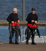 Divers finish a full day of searching Monday, April 27, 2020, for the body of a man reportedly drowned Sunday afternoon. According to Lt. Trevell Dixon of the Reservoir Police, after getting his child who was panicking in the water back into the boat, the man never resurfaced. Ridgeland, Madison, Rankin County, Reservoir and Mississippi Department of Wildlife and Fisheries are assisting with the search.