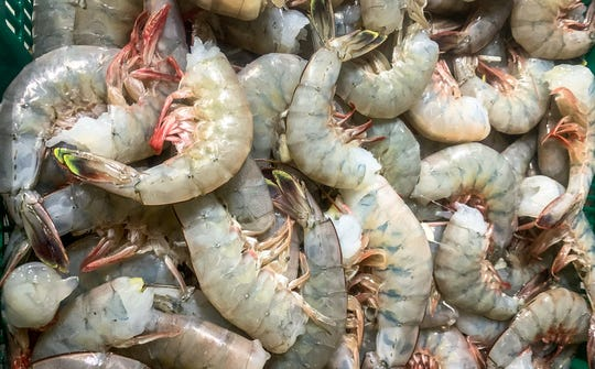 Lance Nacio, who shrimps off the coast of Louisiana, sells his catch now at farmers markets and directly to customers.
