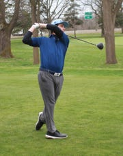 Hartland's Bryce Brief was chosen to the Division 1 all-state golf team in 2019.