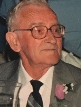 """John """"Doug"""" Woods, 90, of Madisonville, died April 20, 2020, after testing positive for COVID-19."""