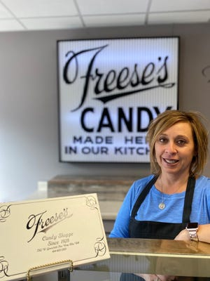 Wendy Matel and her husband own Freese's Candy Shoppe & Heavenly Roasted Nuts, 7312 W. Greenfield Ave. in West Allis.