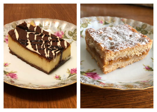 The house cheesecake and Polish apple cake are the desserts included with the Polonez Mother's Day meal.