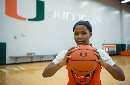 Michelle Woods was the 2010-11 Naples Daily News Girls Basketball Player of the Year at Community School and went on to play at the University of Miami.