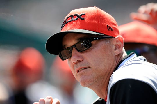 Joe McEwing, who played for the New York Mets and three other teams during his nine-year playing career, is currently the Chicago White Sox bench coach.