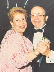 Stan and Bernice Goldberg. Stan died from COVID-19 at the Paramus veterans home. Bernice is still living there.