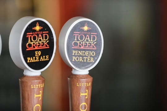 Little Toad Creek Brewery and Distillery in Downtown Las Cruces on Tuesday, April 28, 2020.