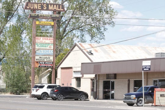 June's Mall is pictured, Monday, April 27, 2020, in Bloomfield.