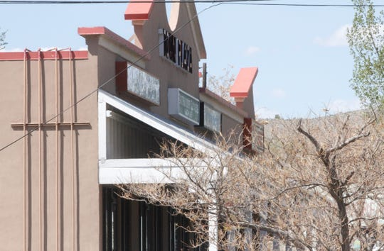 Town Plaza is seen, Monday, April 27, 2020, in Bloomfield.