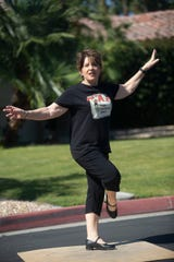 Dori Smith is photographed at her home during COVID-19 contingency in Palm Desert.