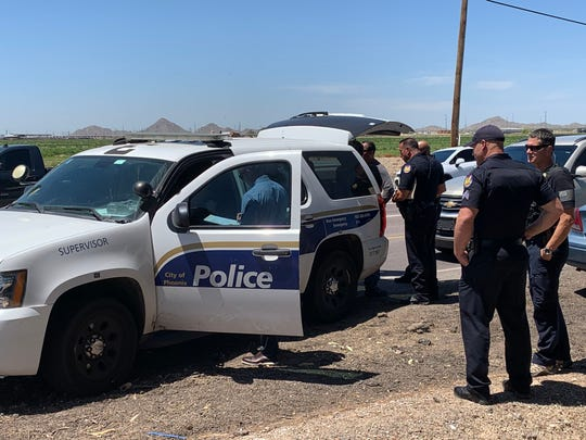 Phoenix police were involved in a shooting in Buckeye Tuesday.
