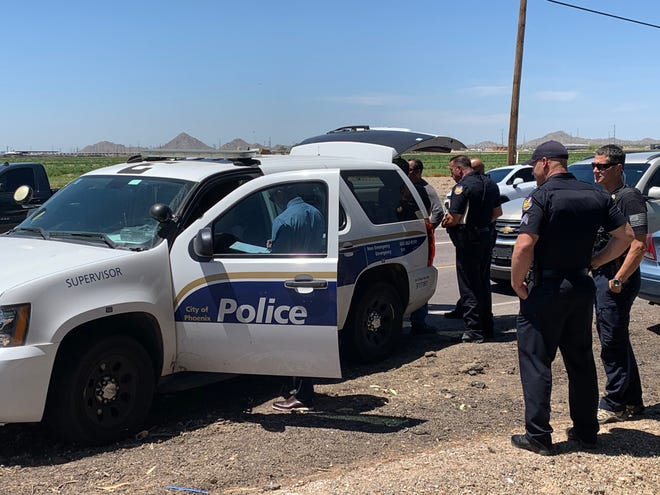 Phoenix police were involved in a shooting in Buckeye on April 28, 2020.
