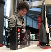 Lori Johnston is a lecturer at the University of Georgia's Grady College of Journalism and Mass Communication. Once a semester, Ty, 14, visits her students to be interviewed about his passion for Legos for an in-class assignment.