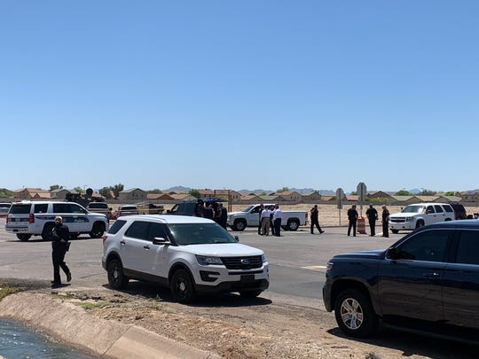 Phoenix police were involved in a shooting with a 32-year-old man Tuesday in Buckeye.