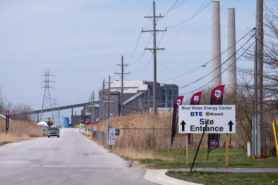 Work at DTE Energy's Blue Water Energy Center is expected to resume May 4 after being delayed due to the coronavirus pandemic.