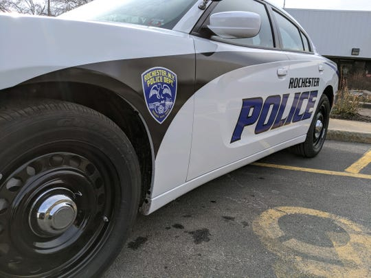 Rochester Police Department patrol car