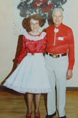 Karel and Bill Birdsall were avid square dancers well into their 70s.