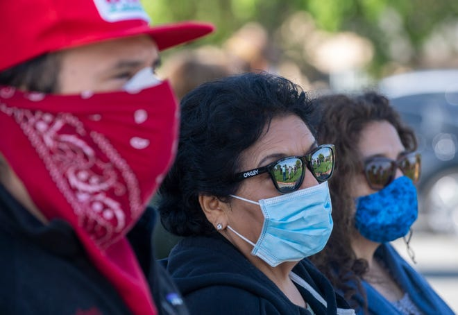 Facial coverings will be mandatory in public across Monterey County starting Thursday.