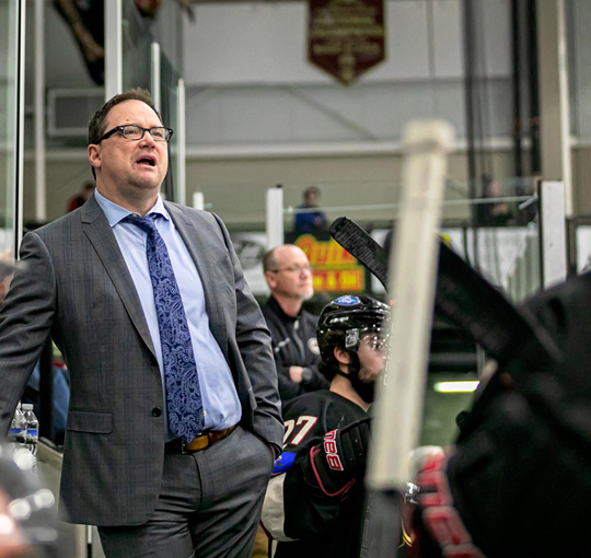 Marty Murray is the 8th head coach in Stampede history