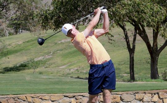 Oskar Ambrosius is a junior golfer at UTEP