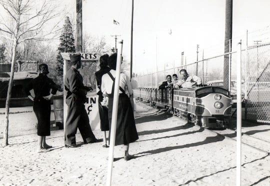 Washington Park Zoo train.