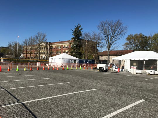 New walk-up COVID-19 testing site being set up in the village of Haverstraw is set to open April 29.
