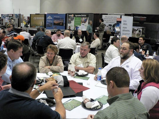 Lots of talking takes place at the PDPW Business Conference - but not this year.