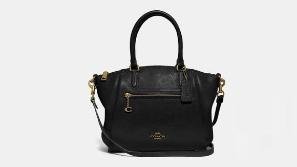 This luxe leather bag is sure to make her smile.