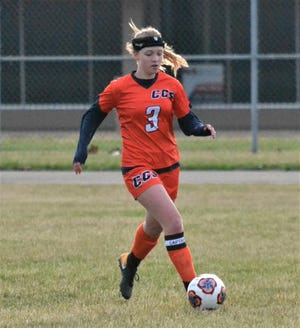 Elsa Mullis is a two-time captain for the St. Philip/Calhoun Christian girls soccer team.