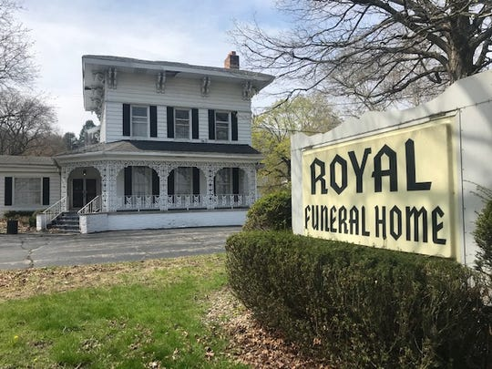 Royal Funeral Home  Trace Christenson/The Enquirer
