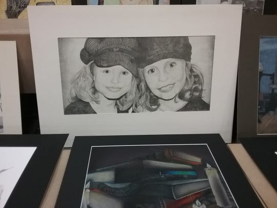 Governor's Art Show submission by Wynford student Mia Leuthold.