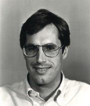Tom Whitehurst Jr.'s first Caller-Times employee photo, 1983.