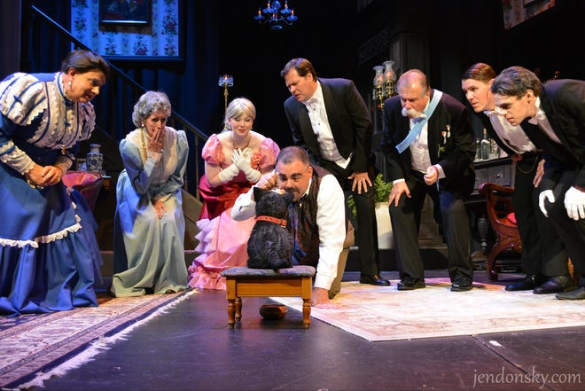 'The Ghosts at Ravenswood Manor' is a 2019 production by the Ritz Theatre Company of an original murder mystery.