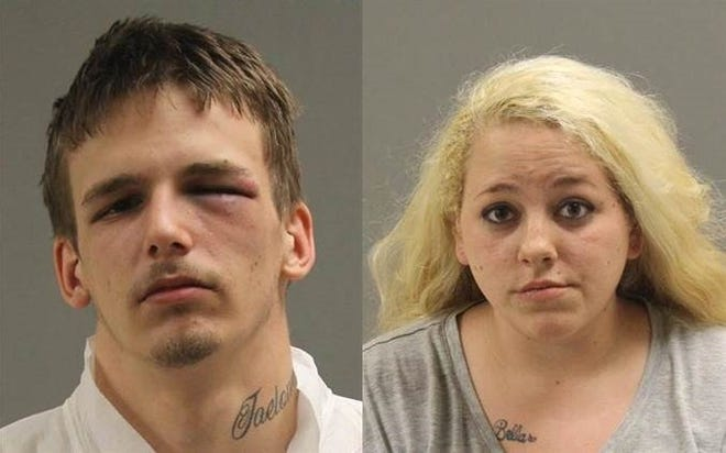 Daniel Wargo, 21 of Southgate, and Summer Desjardin, 24 of Greenwood Township, are accused of robbing and shooting a man in Warren on Sunday, April 26, 2020. (Warren Police Department)